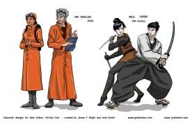 GZ: Infinity Core - Time Travelers, Ninja, Samurai