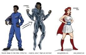 GZ: Infinity Core - Astronaut, Superhero