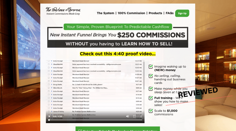 earn $250 commissions