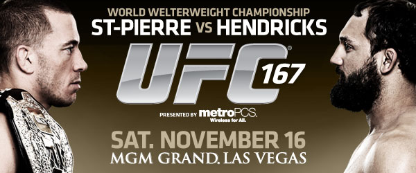 UFC 167: St-Pierre vs Hendricks – Odds/Analysis