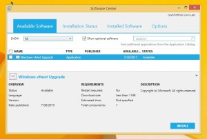 Deploy Windows 10 In-Place Upgrade Using Configuration