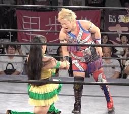 Gatoh Move Ryo Mizunami vs. Yuna Mizumori