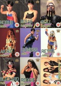 All Japan Women Official Cards Set #3