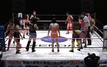 Sendai Girls' on 1/12 Battle Royal