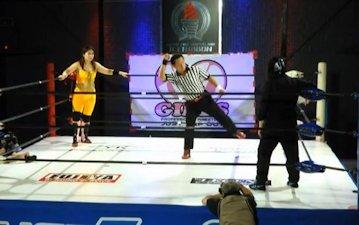 Aki Shizuku vs. Black R