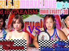 Marvelous at Shin-Kiba 1st RING Banner
