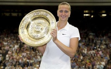 Defending champion Petra Kvitova won her second Wimbledon title last year – telegraph.co.uk