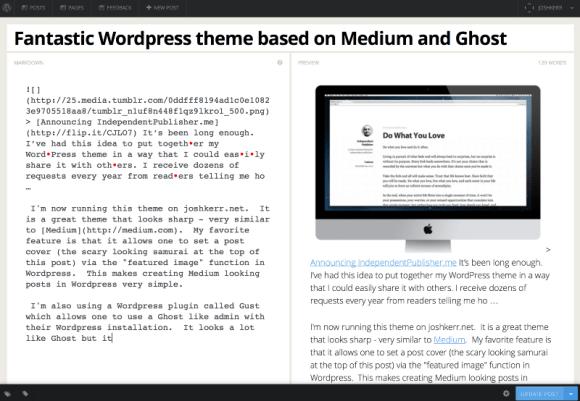 Ghost like interface