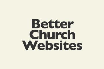 Better Church Websites