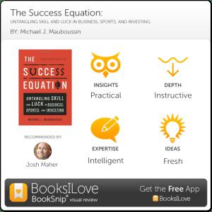 SuccessEquation-BookSnip-JMaher