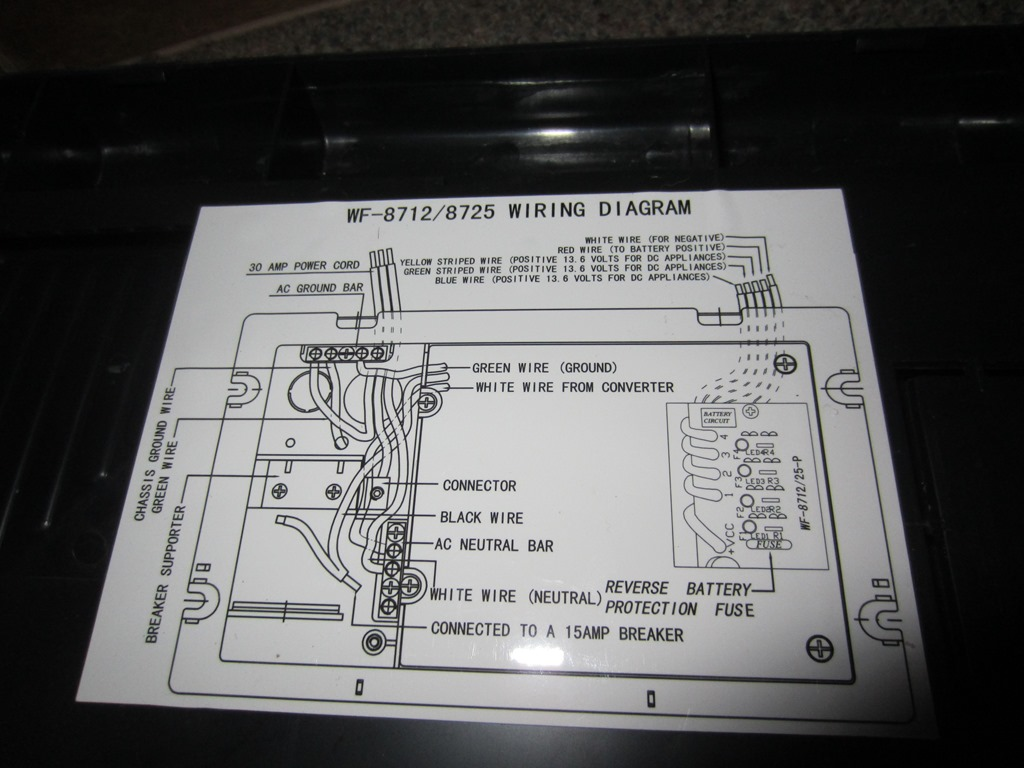 wfco rv converter wiring diagram 2000 ford f250 headlight 8712 24 images