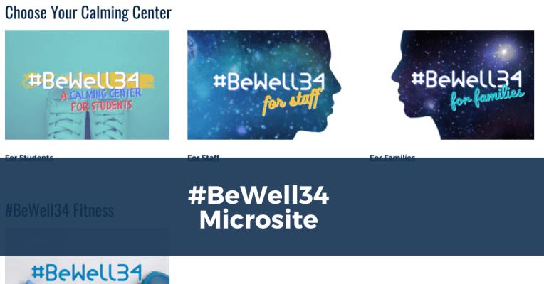 #BeWell34 Calming Center