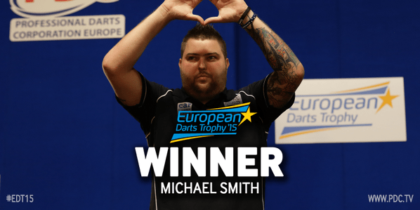 Michael Smith wins EDT15
