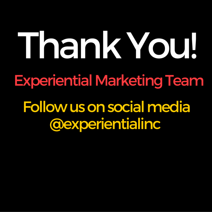 Experiential Marketing Team