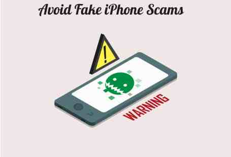 Avoid Fake iPhone Scams