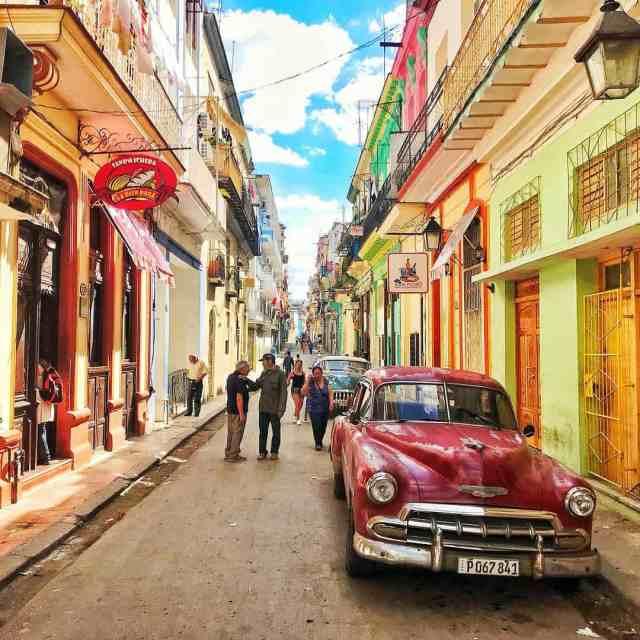 The incredible laneways of Havana cuba havana habana cuba travelhellip