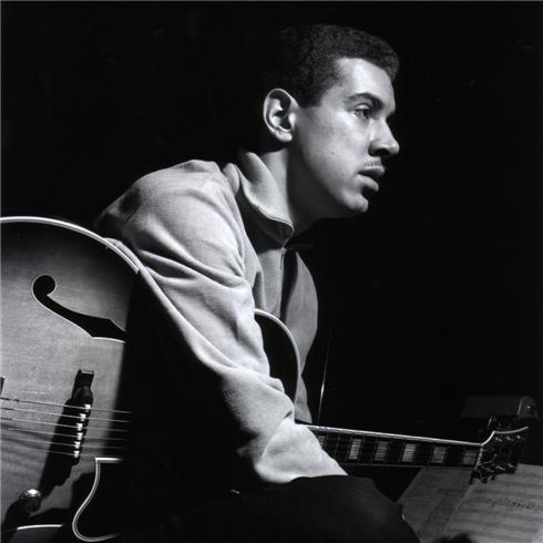Kenny Burrell by Francis Wolff
