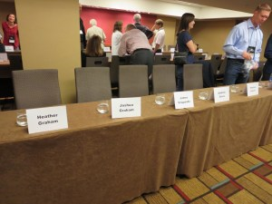 in great company at the book signing
