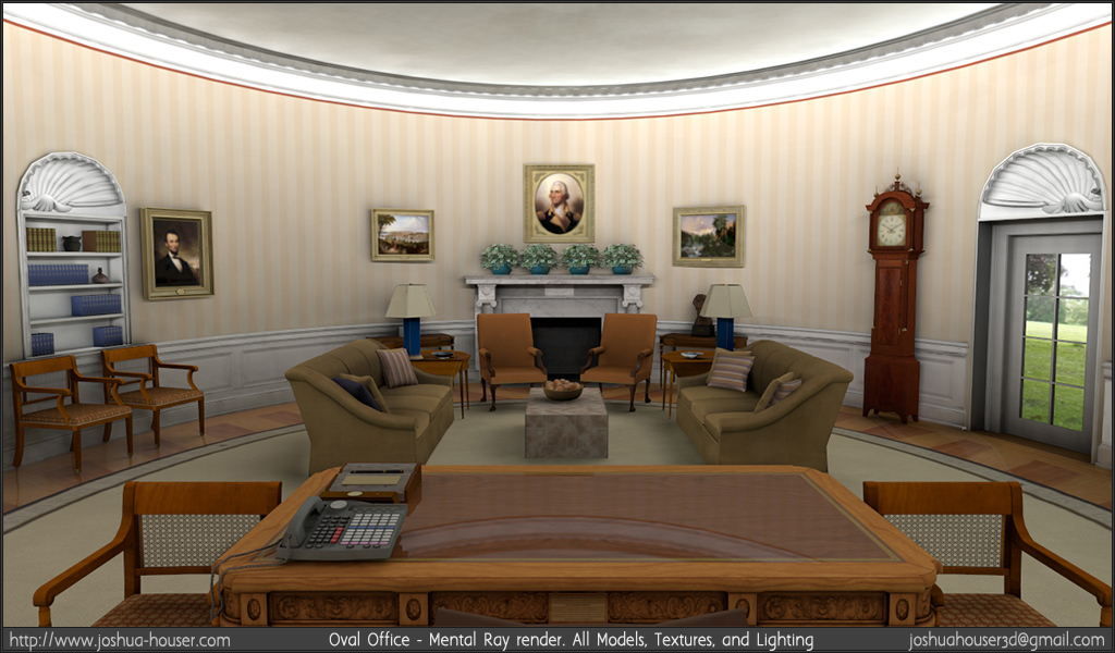 Oval Office Location