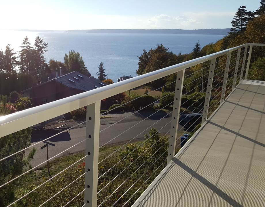 Stainless Steel Cable Railing Cost Per Foot Stair House   Handrail Cost Per Foot