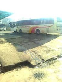 I went to the Avenida Bus station to board the bus going to Balanga via Orani in Bataan.