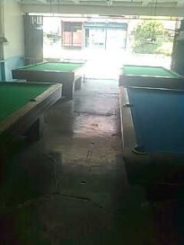 To console myself of the fall-out, I played billiards for a while.