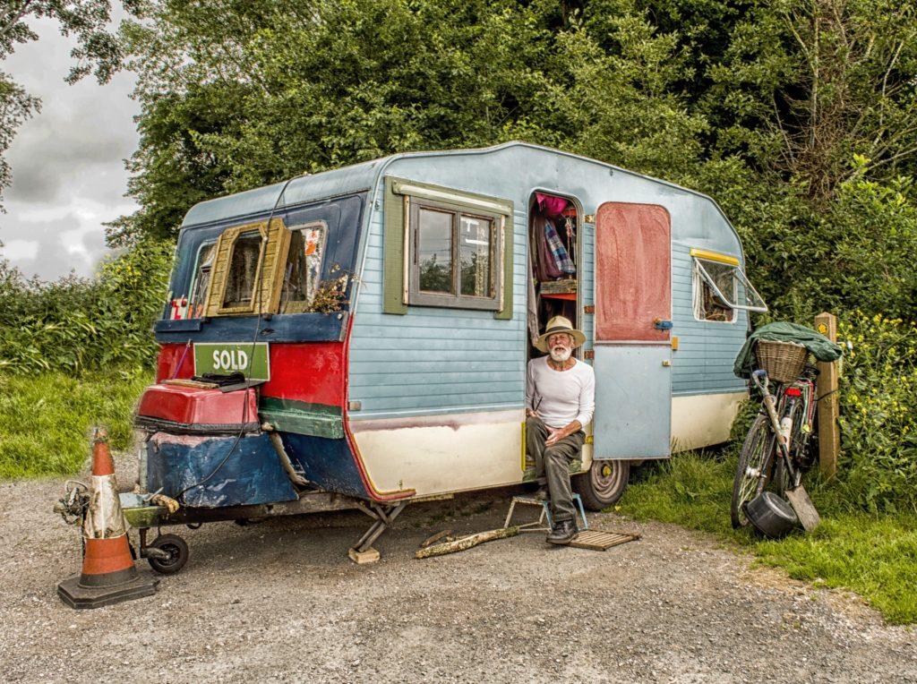 pop up camper rebuild
