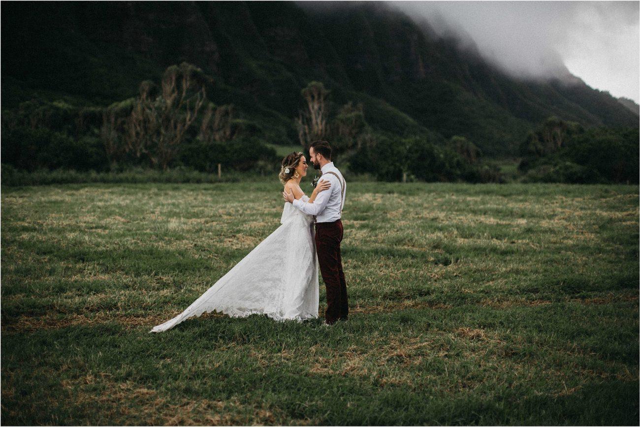 Kuoloa Ranch Wedding