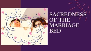 Read more about the article SACREDNESS OF THE MARRIAGE BED