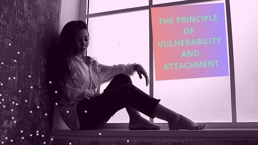 a vulnerable lady with attachment syndrome