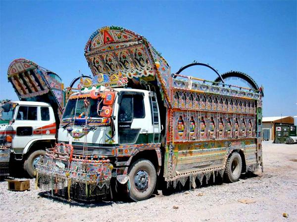 An Afghani Jingle Truck
