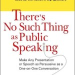 Tuesday Morning Book Review || There's No Such Thing as Public Speaking