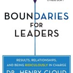 Tuesday Morning Book Review || Boundaries for Leaders