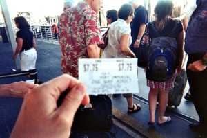 Ticket to adventure