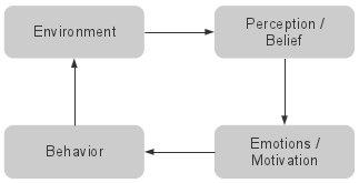 environment beliefs emotions behavior