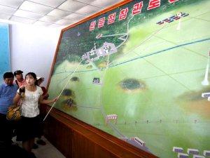 North Korea's demilitarized zone