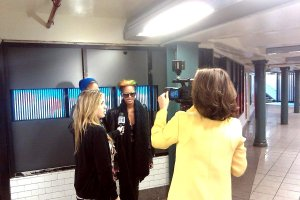 Coco && Breezy at Union Square in Motion with NY1