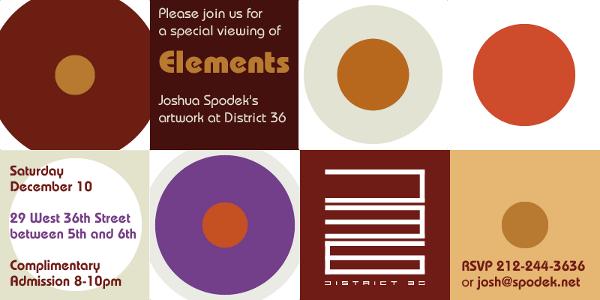 Joshua Spodek District 36 December 10 Invitation