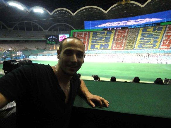 Alex at Mass Games