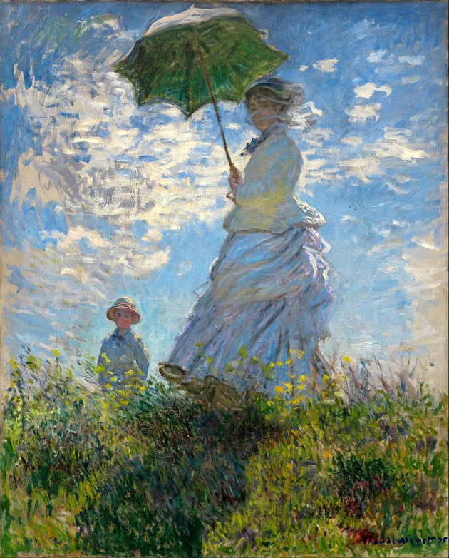 Monet_-_Woman_with_a_Parasol_-_Madame_Monet_and_Her_Son_1875_33656
