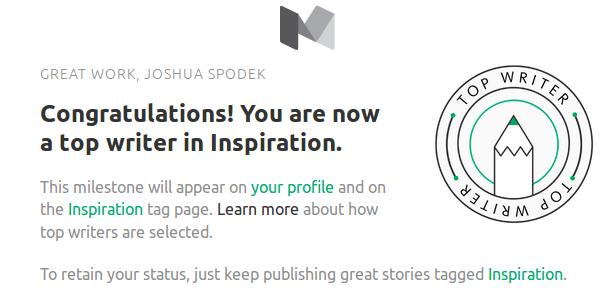Joshua Spodek Top Inspiration Writer