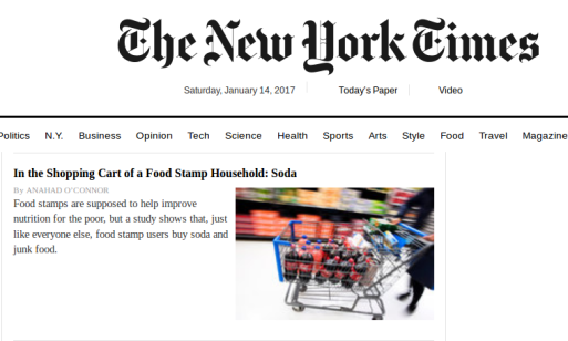 NYTimes normalizing obesity