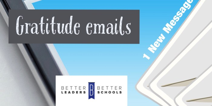 gratitude emails