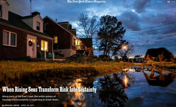 NY Times Rising Seas