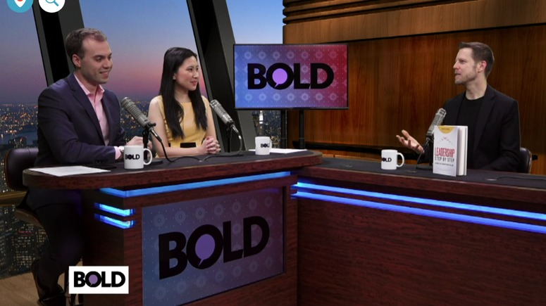 BOLD TV featuring Joshua Spodek on Leadership Step by Step
