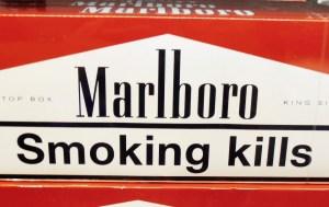 smoking warning
