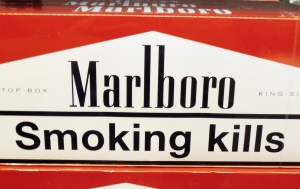 smoking warning
