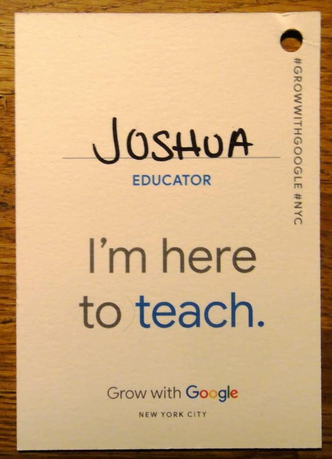 google name tag