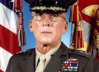 Lieutenant General Paul Van Riper USMC