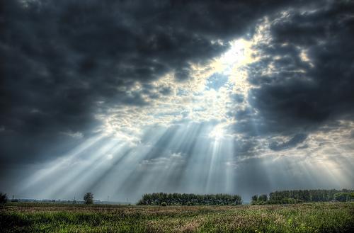 sun rain